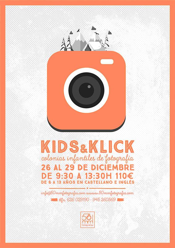 colonias infantiles de fotografía kids & klick