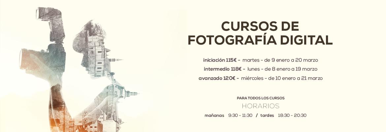Cursos de fotografía 2018 Vitoria-Gasteiz