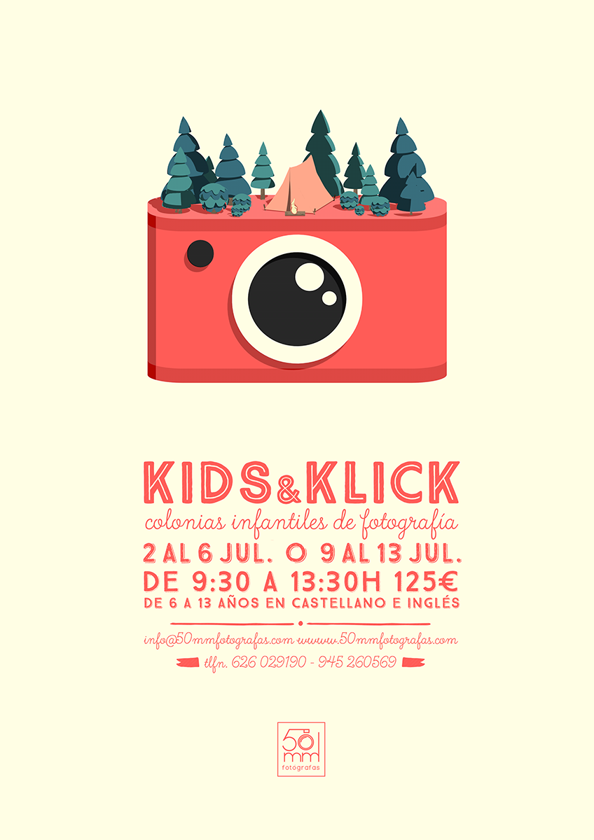 colonias de fotografía kids and klick Vitoria-Gasteiz