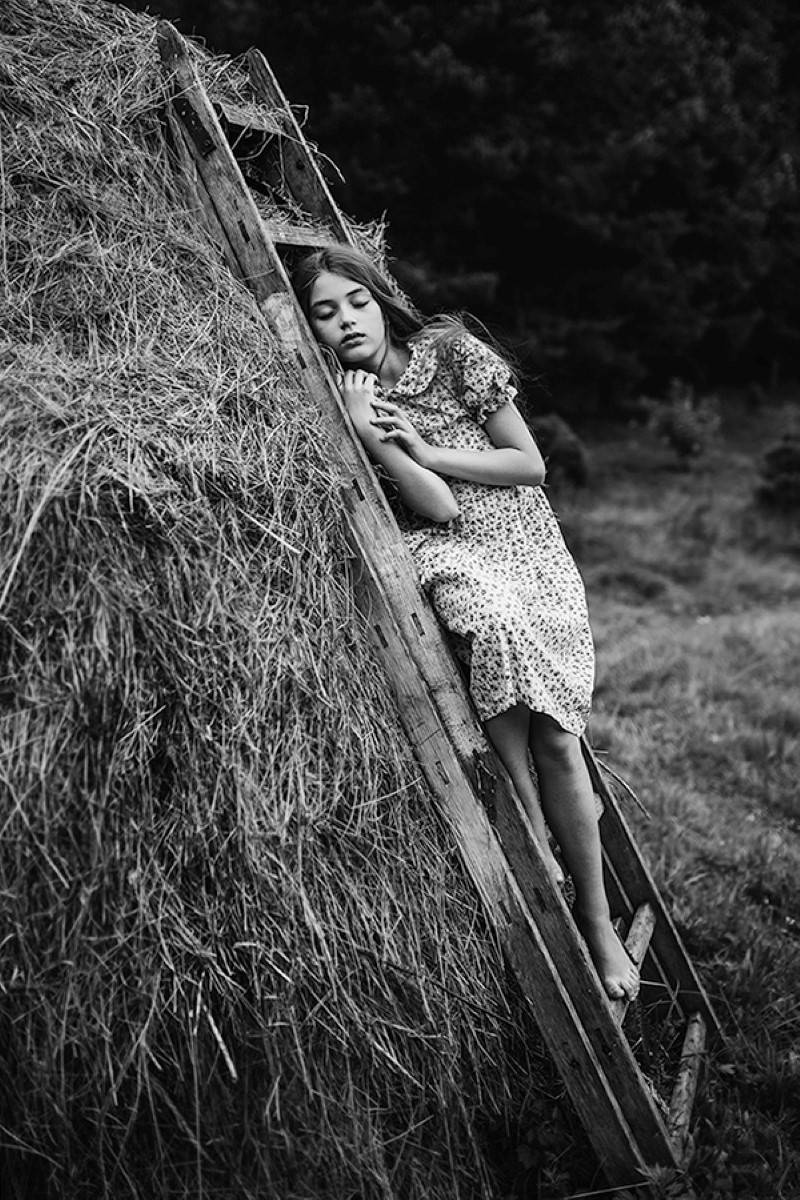 fotografía en blanco Paulina Duczcman
