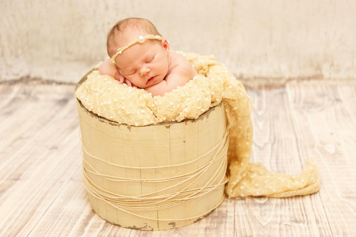 Sesión de fotos newborn Jare