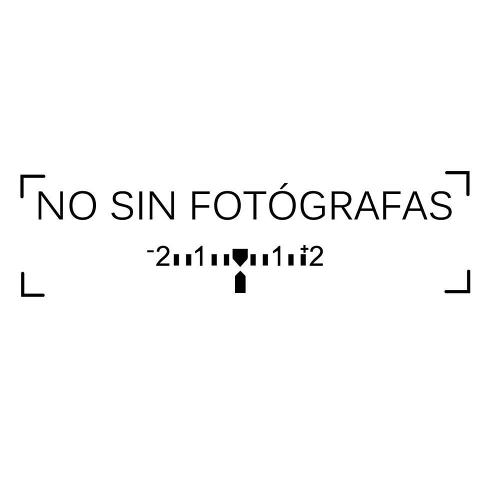 no sin fotógrafas