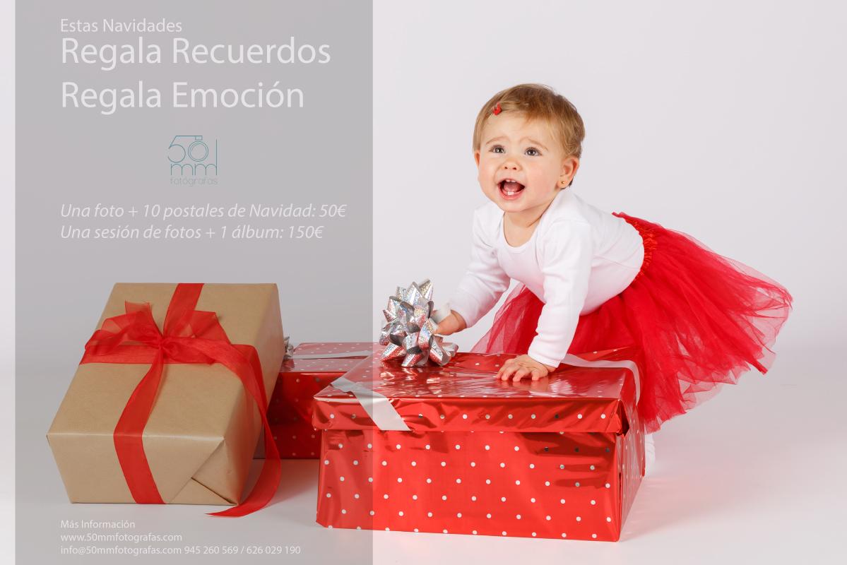 Promoción para estas Navidades con 50mm Fotógrafas