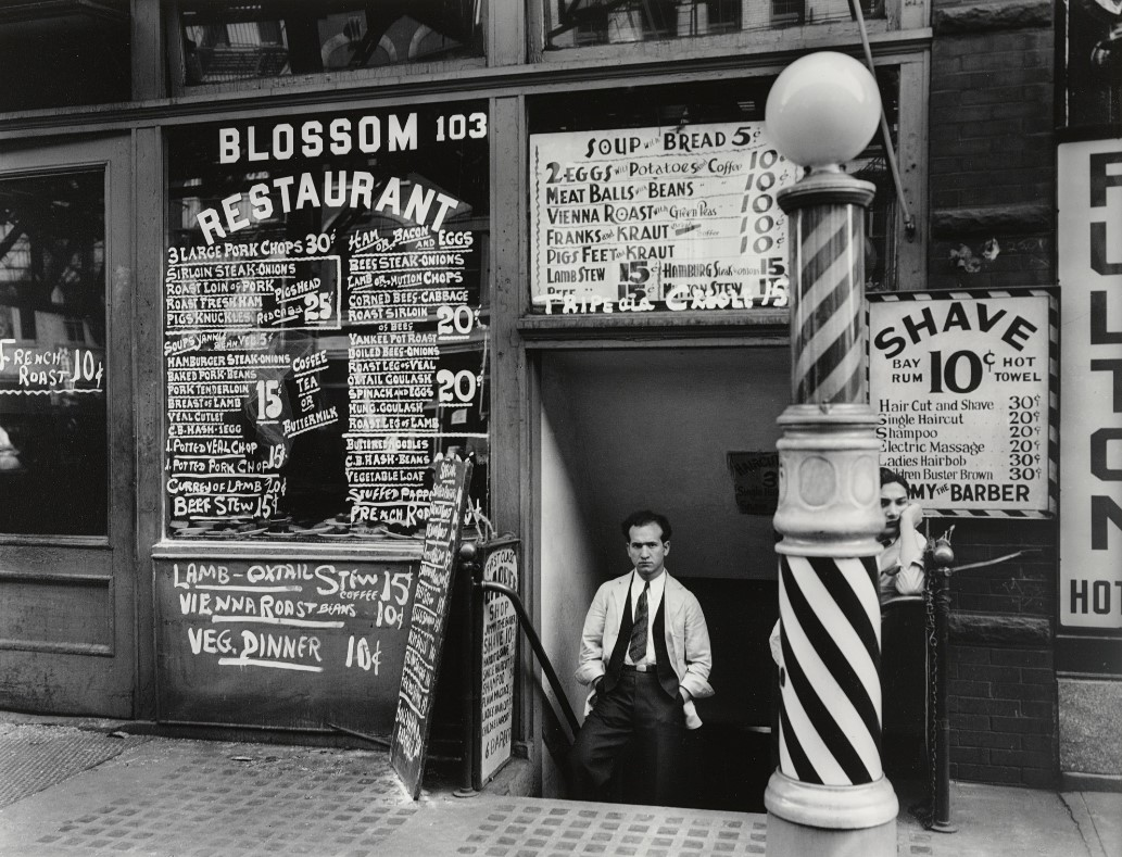 fotografa-berenice-abbott-restaurante-manhattan-1935