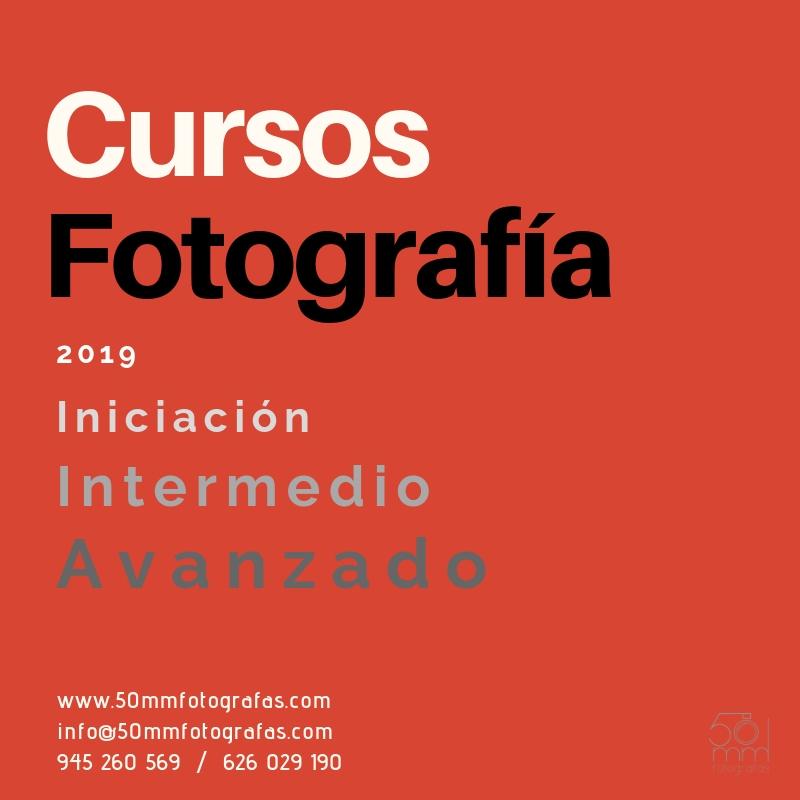 Cursos fotografía 2019 Vitoria