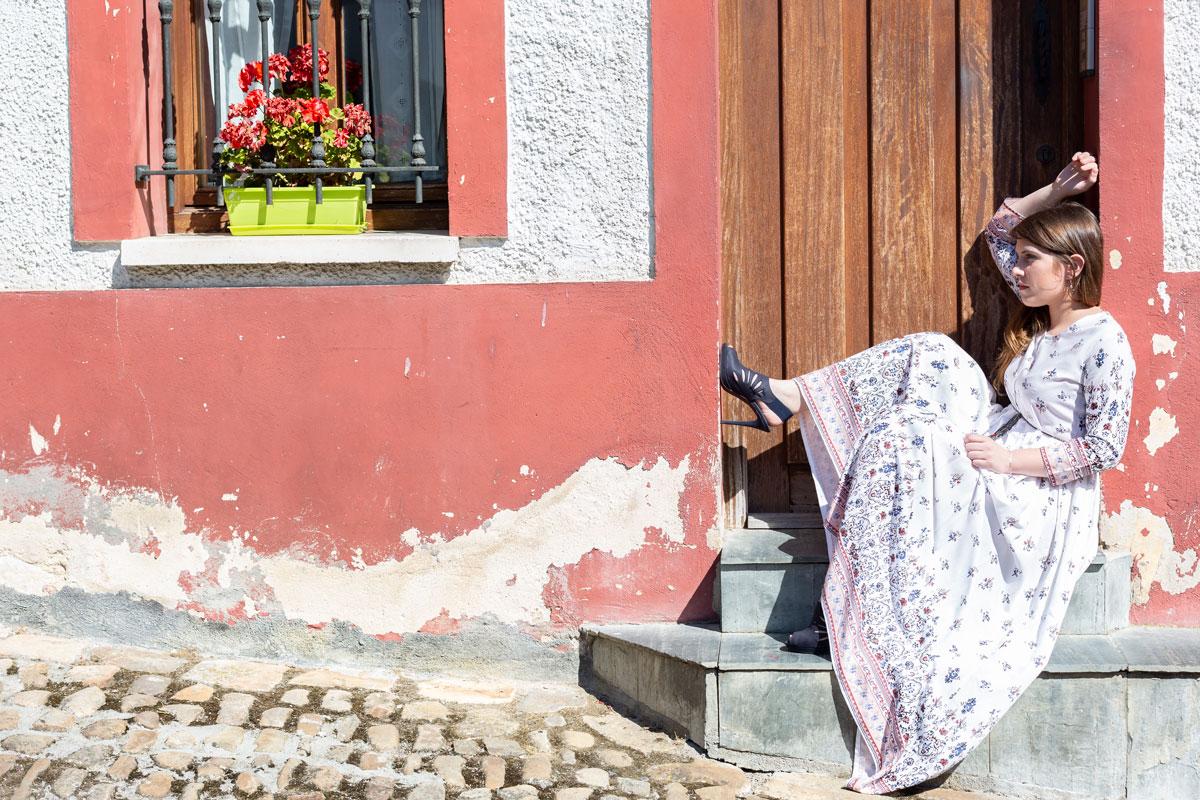 Reportaje de moda étnica