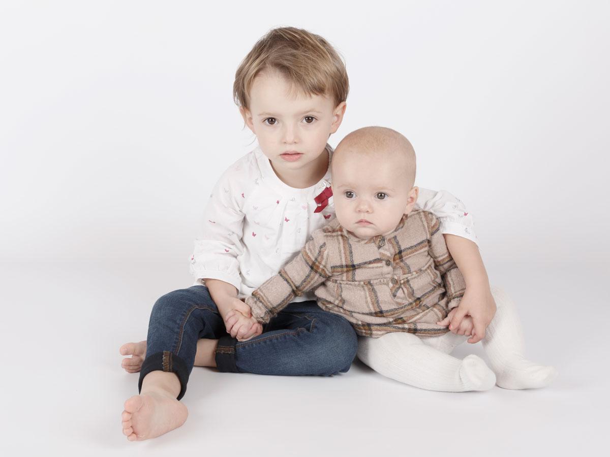 Sesión de fotos infantil Libe y Mara
